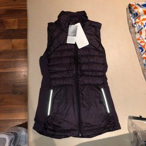 NWT Lululemon Down for a Run II Vest Size 4